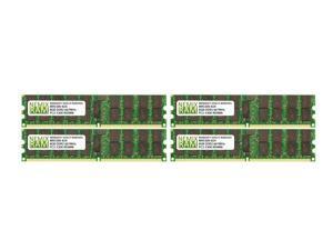 NEMIX RAM 32GB 4x8GB DDR2-667 PC2-5300 2Rx4 ECC Registered Memory