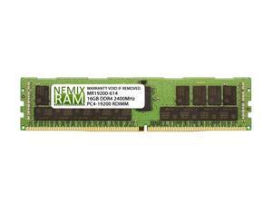 NEMIX RAM 16GB Replacement for Samsung M393A2K40CB1-CRC DDR4-2400 ECC RDIMM 1Rx4
