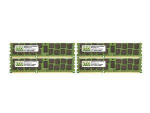 NEMIX RAM 64GB 4x16GB DDR3-1333 PC3-10600 2Rx4 ECC Registered Memory