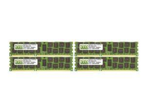 NEMIX RAM 64GB 4x16GB DDR3-1600 PC3-12800 2Rx4 1.35V ECC Registered Memory