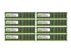 NEMIX RAM 64GB 8x8GB DDR2-667 PC2-5300 2Rx4 ECC Registered Memory
