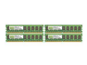 NEMIX RAM 8GB 4x2GB DDR2-667 PC2-5300 2Rx8 ECC Unbuffered Memory