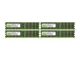NEMIX RAM 16GB 4x4GB DDR2-667 PC2-5300 2Rx4 ECC Registered Memory