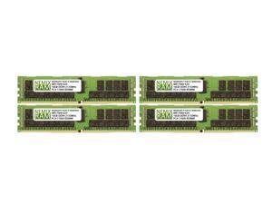 NEMIX RAM 64GB 4x16GB DDR4-2133 PC4-17000 2Rx4 ECC Registered Memory