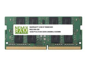 NEMIX RAM 32GB Replacement for Samsung M471A4G43MB1-CTD DDR4-2666 SODIMM 2Rx8