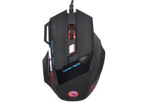 RGB Gaming Mouse, Wired 5500 DPI MiceHigh-Performance Gaming Mouse with   7 Buttons