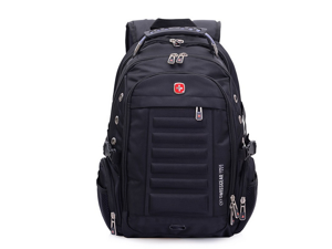 Swissgear 15''shoulder backpack Laptop backpack casual bags-black