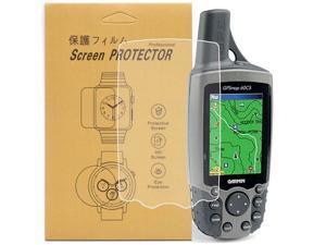 [2-Pcs] For Garmin GPSMap 60/60csx GPS Screen Protector,Full Coverage HD Clear Anti-Bubble and Anti-Scratch for Garmin GPSMap 60/60csx/60C/60CS