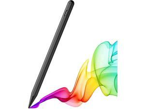 Stylus Pencil for Apple iPad Pro 2021, iPad Pro 4th &3rd Generation 12.9/11, iPad Air 4th &3rd Generation, iPad 8/7/6, iPad Mini 5 Compatible 2018-2021 Apple iPads, Smooth & Durable, Soft & Noiseless