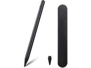 TiMOVO Stylus for iPad, iPad Pencil for iPad Pro 2021 11/12.9 Inch (2021-2018), iPad 8th Generation, iPad 7/6th, iPad Air 4th/3rd, iPad Mini 5th, Upgraded Tip Palm Rejection Magnetic Stylus Pen, Black