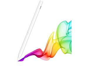 Stylus Pen for Apple iPad Pro 2021, iPad Pro 4th &3rd Generation 12.9/11, iPad Air 4th &3rd Generation, iPad 8th, iPad 7th, iPad 6th Compatible with 2018-2021 All Apple iPads, White [Tilt Creative]