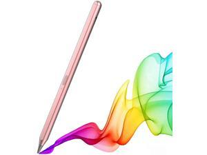 Stylus Pen for Apple iPad Pro 2021 M1 , iPad Pro 4th &3rd Generation, iPad Air 4th & 3rd Generation & iPad 8th 7th 6th Generation Magnetic Palm Rejection Pen Compatible with iPad 2018-2021 (Rose Gold)