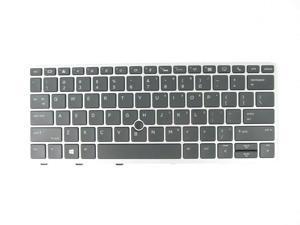 Laptop Keyboard Compatible for HP p//n 9Z.NBTSQ.301 NSK-CU3SQ 01 793164-001 788511-001 790924-001 V149046BS1 AEY09U00120 US Black No Frame
