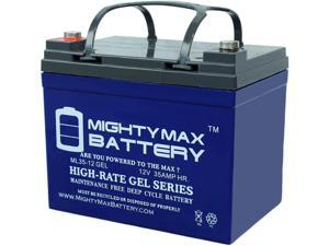8 Pack Brand Product Mighty Max Battery 12V 7.2AH SLA Replacement Battery for TrippLite G1010USB UPS