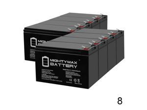 8 Pack Brand Product Mighty Max Battery 12V 7Ah UPS Battery for Belkin Components Pro F6C100-4