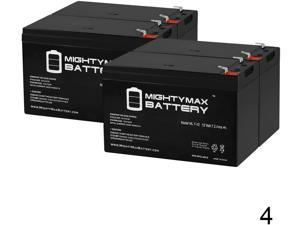 12V 7.2Ah F2 Replacement Battery Set for Exide//Powerware PW9120 1500