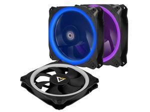 Antec Spark 120mm RGB LED Case Fan Radiator,3 Packs