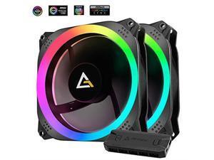 Antec Fan Prizm 140 ARGB 2+C 2 in 1 Pack with Fan Controller ARGB Retail
