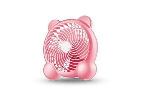 Vosarea USB Personal Fan Wearable Mini Handheld Fan 360 Rotating Quiet Portable Fan Blue