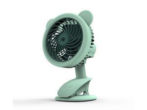 XIAOF-FEN 3 Gear Wind Mini Fan USB Charging Summer Fan Lightweight Electric Fan Outdoor Personal Fans USB Fan Color : Blue
