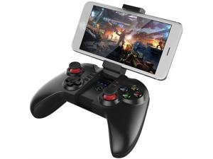TDCQQ Mobile Game Controller,Mobile Gaming Wireless Bluetooth Controller Gamepad with Adjustable Bracket Holder Supports Android 3.2 Above System//PC