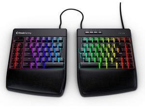 KINESIS Gaming Freestyle Edge RGB Split Mechanical Keyboard (MX Red)