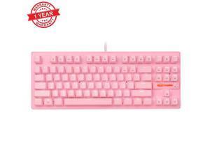 Veepola Backlit Gaming USB Keyboard Multimedia Illuminated Color LED USB Wired for PUBG