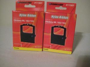 Nylon Ribbon Okidata ML 182-192 (2 pack)