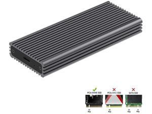 Vaorwne M.2 Sata Ssd to USB 3.0 External Ssd Reader Converter Enclosure with Uasp,Support Ngff M.2 2280 2260 2242 2230 Ssd with Key B//Key B+M
