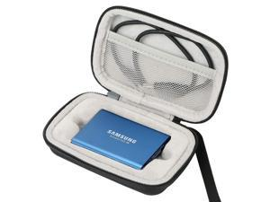 Khanka Hard Travel Case Replacement for Samsung T3 T5 Portable 250GB 500GB 1TB 2TB SSD USB 3.0 External Solid State Drives