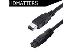 yan/_Lot 2 pcs USB M to Firewire IEEE 1394 6 Pin M Adaptor Convertor 100/% new