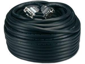 Premium VGA HD15 Male to Male Tri-Shield 5ft Plenum Cable