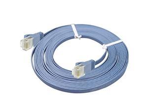 Switches Length: 20m ,for: Network Adapters Hubs DSL//Cable Modems LIN Network Cable CAT6 Ultra-Thin Flat Ethernet Network LAN Cable Routers Baby Blue Patch Panels and Other Computer Networking