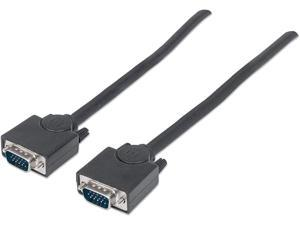 10 ft Manhattan 309066 SVGA Male to SVGA Male Monitor Cable