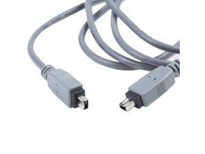 Firewire 6-4 Pin DV Video Cable Cord for JVC Everio Camcorder GZ-HD5//U//S HD5AU//S