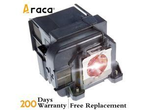 ELPLP77 V13H010L77 Projector Lamp with Housing for Epson PowerLite 1985WU 1980WU 4855WU G5910 4650 1975W 4750W Replacement Lamp by Araca