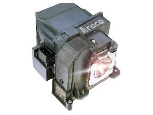 Araca ELPLP71 Replacement Lamp with Housing for Epson BrightLink 485Wi 475Wi 485Wi 475W 475Wi 1410Wi Projector