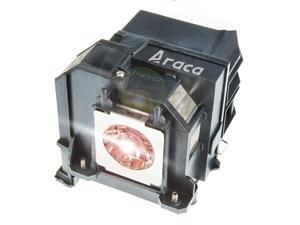 ELPLP80 /V13H010L80 Projector Lamp with Housing for Epson BrightLink 595Wi PowerLite 585W 585Wi 580 EB-595Wi EB-1420Wi EB-585W EB-585WS EB-1430Wi Replacement Lamp by Araca
