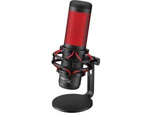 HyperX QuadCast - USB Condenser Gaming Microphone and HyperX Alloy FPS RGB - Mechanical Gaming Keyboard