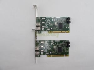The620Guy Lot of 2 Dell Y9457 Dual Port PCI IEEE 1394A Adapter Firewire Card F4582 H924H