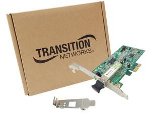 TRANSITION NETWORKS N-FXE-LC-02 100BSE-LX NIC PCIE LC MM 2KM STD//LOW PROFILE