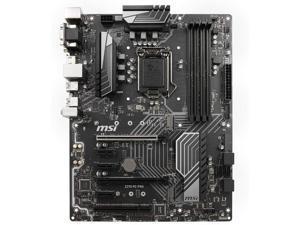 MSI Z370 PC PRO Intel Z370 1151 LGA ATX M.2 Desktop Motherboard B