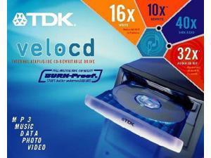 16x10x40 VeloCD ReWriter (TDK CDRW161040B)