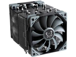 Scythe Ninja 5 Air CPU Cooler, 120mm Single Tower, Intel LGA1151, AMD AM4, Dual Quiet Fans, Black Top Cover