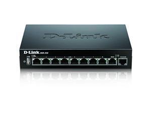 D-Link DSR-250 Service Router - 9 Ports - Desktop