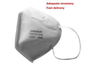5pcs KN95 Dust Masks Fine Air Filter Anti Odor Smog Pollen Dust Mouth Face Mask