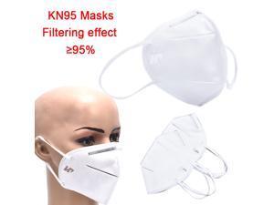 10pcs KN95 Anti-Dust Fine Filters Half Face Mask Anti Flu Safety Protective Masks