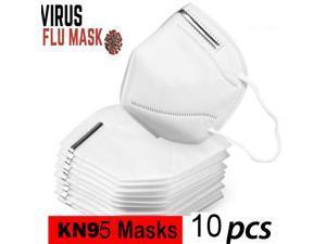 10pcs Mouth Mask Anti Haze Dustproof Disposable Face Masks Salon Dust Ear Protection