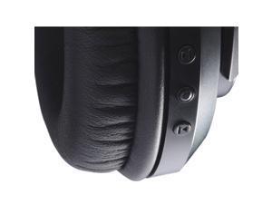 Koss BT540i Full Size Bluetooth Headphones (Black with Silver Trim)