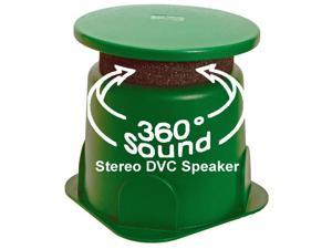 """TIC GS4 8"""" Outdoor Weather-Resistant Omnidirectional Dual Voice Coil (DVC) In-Ground Speaker"""